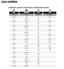 Adidas Adizero Size Chart
