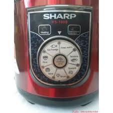 Nồi áp suất Sharp KS-180S - 6.0L, Lòng INOX, Giá tháng 10/2020