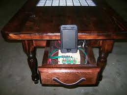 arduino controlled 64 led coffee table