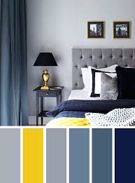 Navy Blue And Yellow Bedroom Gray Ideas Grey Color