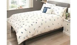 double bedding sets asda swallow print duvet set king size home improvement loans chase