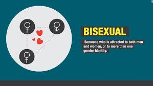 What percentage of women are bisexual