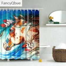 new design fabric bathroom curtain decor crazy lynx colorful shower tree of life curtains bed bath