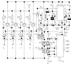 the information society 4 way intercom electronic circuit return to the schematic archive