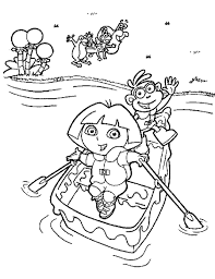 Small Picture Dora The Explorer Coloring Pages Learn To Coloring