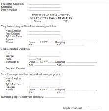 Contoh surat keterangan kerja di kantor notaris; Warga Masih Dipungut Biaya Pengurusan Surat Kematian Di Bekasi