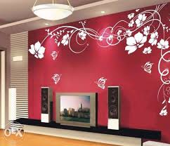 bedroom paint designsWall Decoration Painting With worthy Wall Painted Designs General