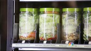 Salad Vending Machine Chicago Inspiration One Company's Bet You'll Buy Their Salad From A Vending Machine