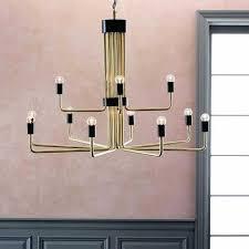 west elm waterfall chandelier best of uptown chandelier 12 light brass panorama chandelier west