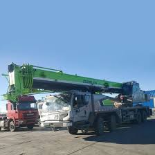 Zoomlion 50 Ton Mobile Crane Ztc500h552 60 Ton Truck Crane