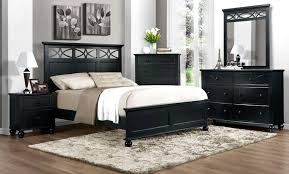 bedroom with black furniture. modern black bedroom furniture with