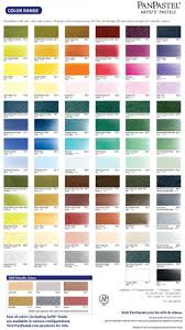 Clay Color Chart Panpastel Artists Pastels Color Chart Poly Clay Play