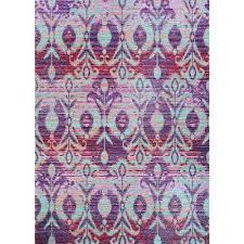 xanadu toluca iris 6 ft x 9 ft indoor outdoor area rug