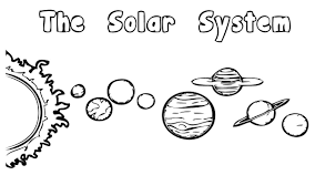 Bold Idea Solar System Coloring Page Color Pages Printable Free