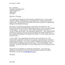 Gallery Of College Student Cover Letter Examples