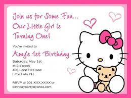 Hello Kitty Party Invitation Beautiful Hello Kitty Party Invitation Templates Gallery