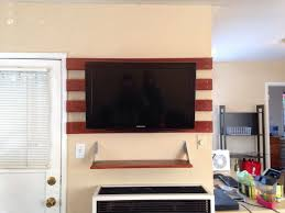 dyi wall mounted tv with no stud we