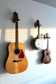 guitar hooks for walls guitar hooks for walls hanging guitars on wall 6 best guitar ideas