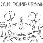 Trova 20 Biglietti Auguri Compleanno Da Colorare E Stampare Gratis
