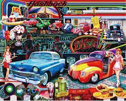 Beibehang Custom 3d Poster Behang Retro 3d Auto Graffiti