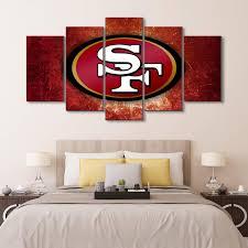 49ers Room Designs Amazon Com Karen Max Created New Canvas Prints San