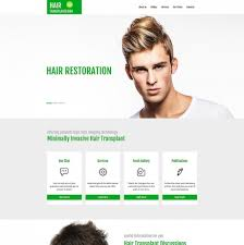 Top Medical Website Designs Top Medical Website Design For Hair Regrowth Clinic