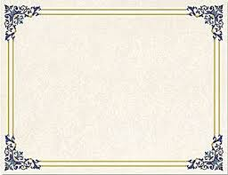 blank certificates amazon com 48 pack certificate papers letter size blank award the