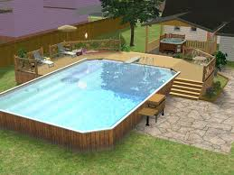 patio with square pool. Other Patio With Square Pool I
