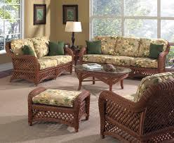 image of indoor outdoor wicker furniture