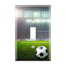 Sports Light Switch Plates Soccer Light Switch Cover Football Light Switch Plate