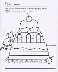 Kleuren Volgens Legende Kinderboekenweek Verjaardag Kleuren