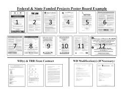 examples of poster board projects poster board labor compliance mndot
