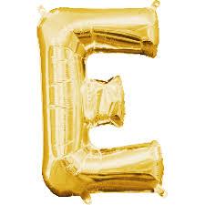 mini gold letter e balloon small gold letter e mylar letter balloon 8 356 300 c=2