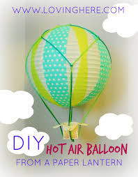 diy hot air balloon pin