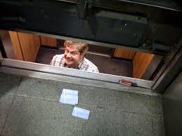 people stuck in elevator. i was stuck in an elevator people