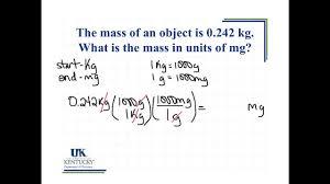 Conversion Chart Mg To G Convert Kg To Mg