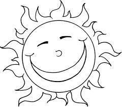 Small Picture Sun Coloring Pages Rainbow With Clouds And Sun Coloring Page