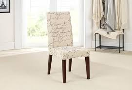 white dining chair slip covers sure fit stretch pen pal by short slipcover intended for slipcovers