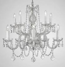 engaging the gallery crystal chandelier g chandeliers retro odeon glass fringe intended for tier