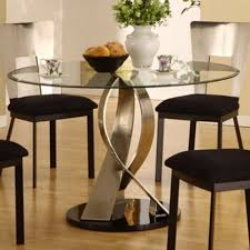 glass cabinets captivating look of round table decorating ideas entrancing design ideas using brown laminate floor and