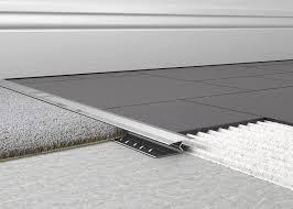 carpet tile tile to carpet transition metal carpet to tile trim 1 piece knock down ndash