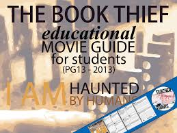 the book thief movie viewing guide by travis teaching the book thief movie viewing guide by travis82 teaching resources tes