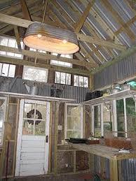 antique barn lighting fixtures. galvanized tub light fixture in potting shed antique barn lighting fixtures t