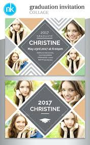 Collage Card Maker Online Photo Collage Card Maker Verse Graduation Invitations Bible
