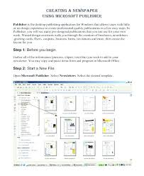 Microsoft Publisher Program Template Office Newspaper Template Free Download Publisher Microsoft