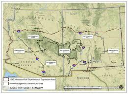 Wolf Body Language Chart Southwest Region