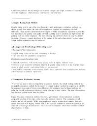 Self Assessment Sample Appraisal Examples For Managers Employee ...