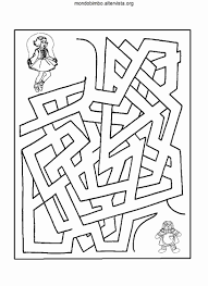 Disegni Per Bambini Di 7 Anni 50 Labirinti Da Stampare Per Bambini