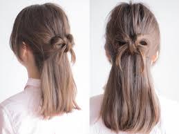 ゴムいらず自分の髪でできる簡単リボンヘアのやり方 ヘアアレンジ