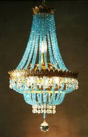 featured photo of turquoise chandelier crystals